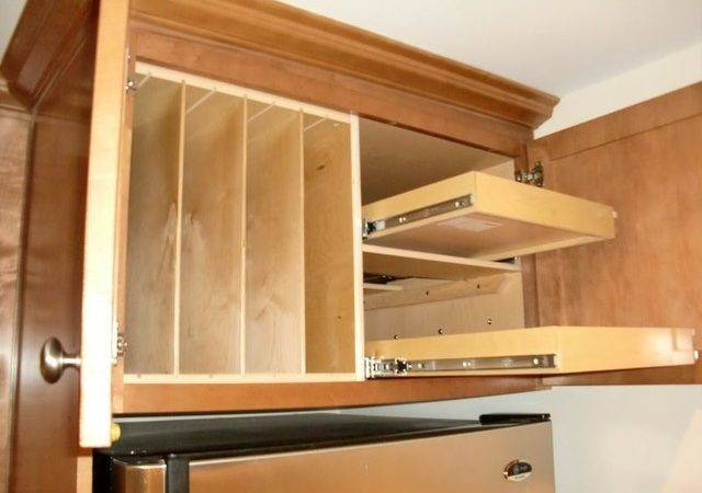 Above Fridge Oven Solutions Kitchen Drawer Organizers