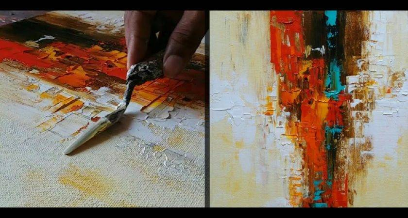 Abstract Painting Make