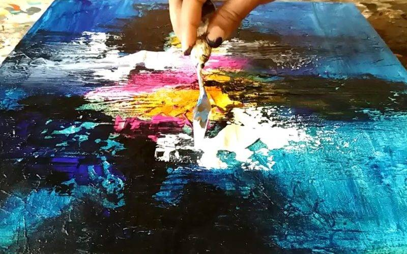 Abstract Painting Paint