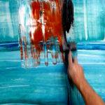 Abstract Paintings Peter Dranitsin Acrylic Pigments