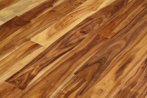 Acacia Walnut Blonde Solid Prefinished Hardwood Wood Floor