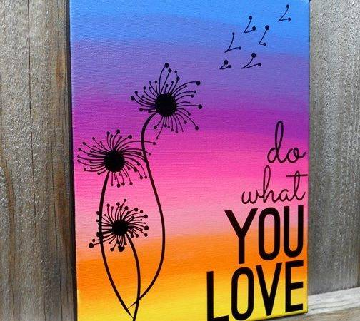 Add Color Your Home Beautiful Canvas Painting
