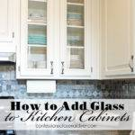 Add Glass Cabinet Doors Confessions
