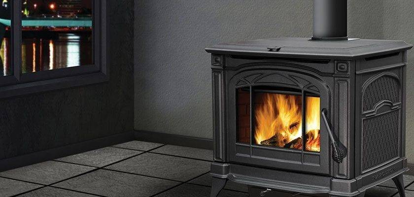 Adding Wood Stove Existing Fireplace Home Decoder