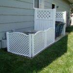 Air Conditioner Fence Pics