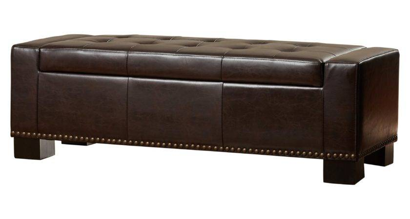 Alcott Hill Davers Upholstered Two Seat Storage Bench