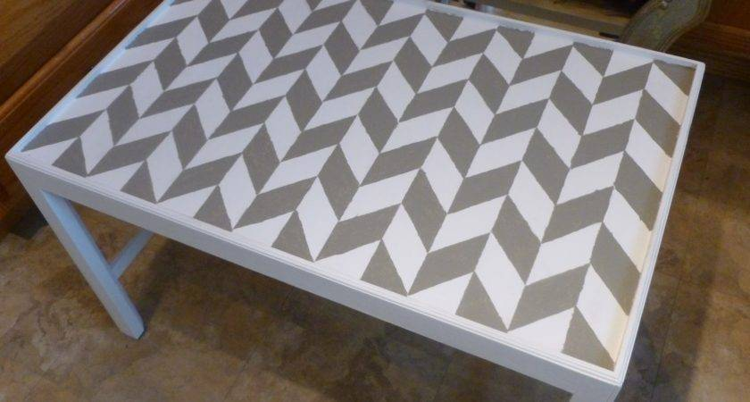 All Brings Joy Herringbone Table