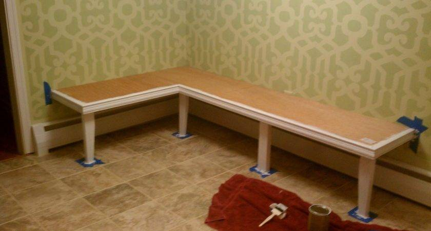 All Things Creative Diy Kitchen Banquette