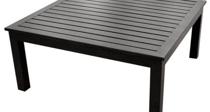 Allen Roth Gatewood Square Patio Coffee Table