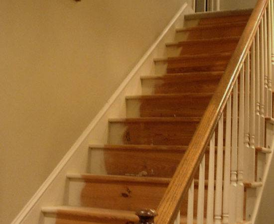 Amazing Carpeted Stairs Make Over Wooden Style Flooring
