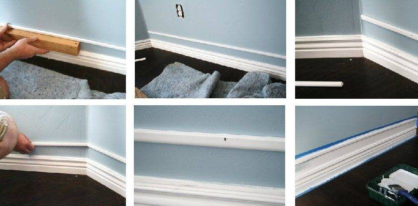 Amazing Cheap Faux Baseboards One Good Thing Jillee