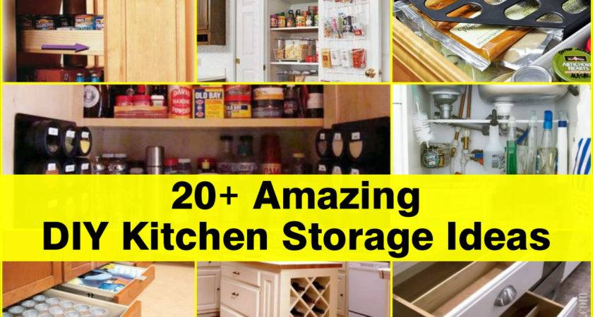 Amazing Diy Kitchen Storage Ideas