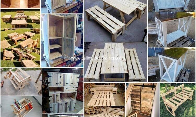 Amazing Things Can Make Using Old Shipping Pallets
