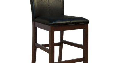 America Prses Parsons Curved Back Counter Height Stool