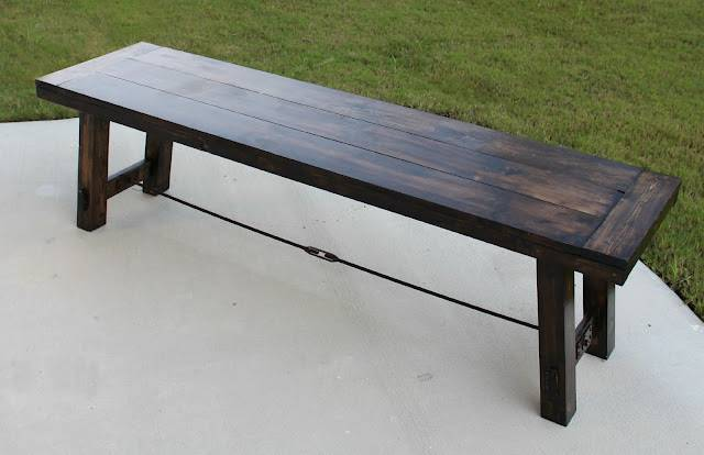 Ana White Benchright Farmhouse Bench Diy Projects