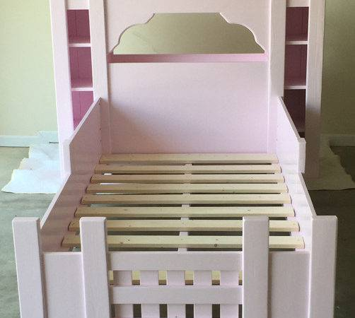 Ana White Castle Bed Twin Diy Projects