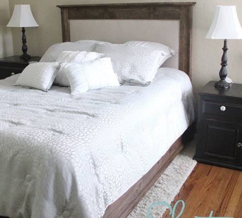 Ana White Chestwick Upholstered Headboard Queen Diy