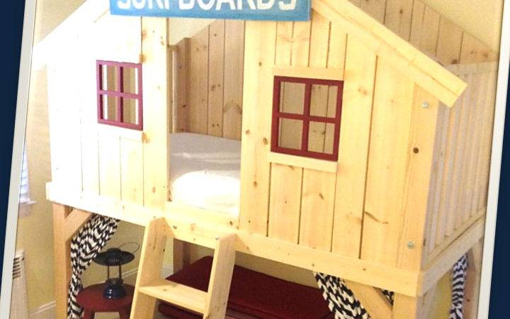 Ana White Clubhouse Bed Diy Projects