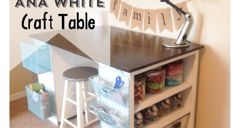 Ana White Craft Table