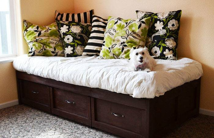 Ana White Daybed Storage Trundle Drawers Diy Projects