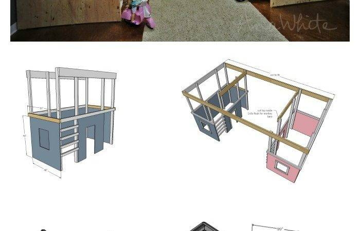 Ana White Diy Basement Indoor Playground Monkey
