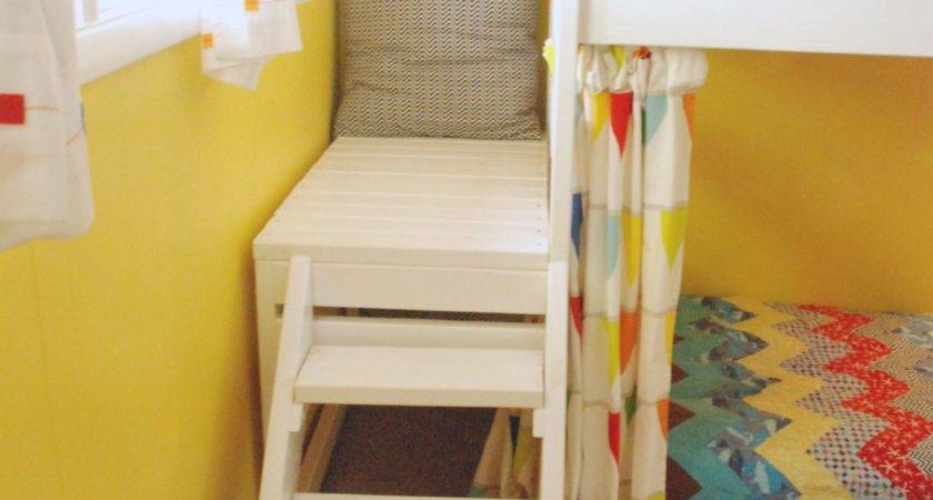 Ana White Diy Camp Loft Bed Curtain Projects
