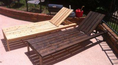 Ana White Diy Chaise Lounge Chairs Projects