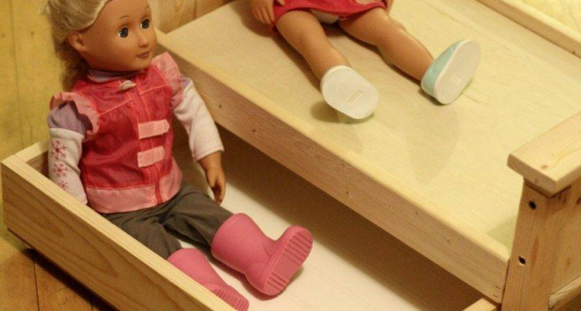 Ana White Doll Bed Trundle Diy Projects