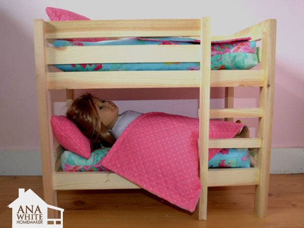 Ana White Doll Bunk Beds American Girl