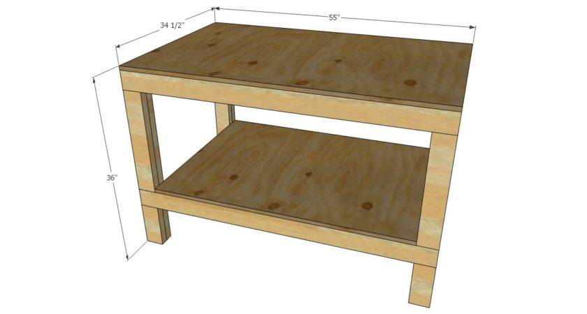 Ana White Easy Diy Garage Workshop Workbench Projects