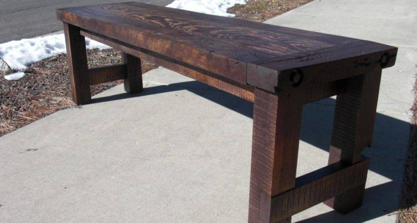 Ana White Farm House Bench Diy Projects