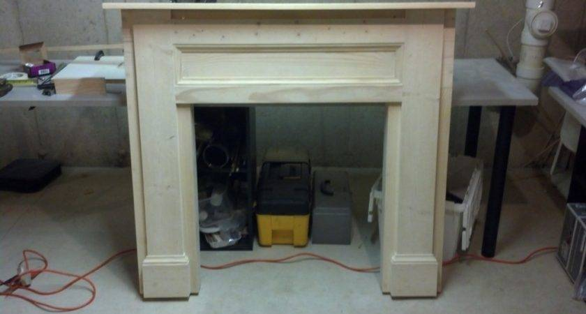 Ana White Faux Fireplace Build Diy Projects