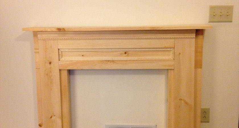 Ana White Faux Mantle Diy Projects