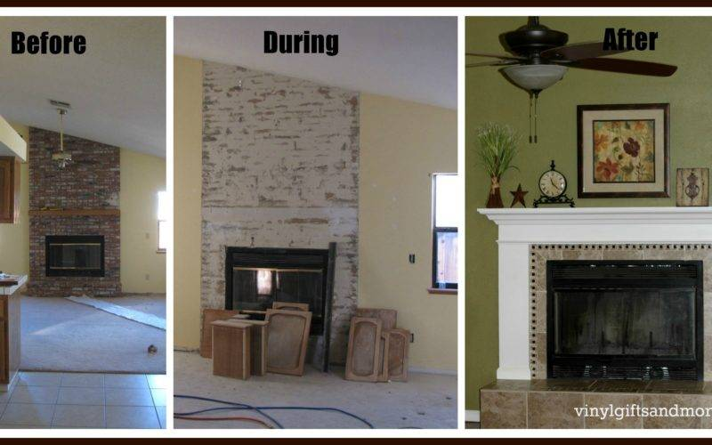 Ana White Fireplace Remodel Diy Projects