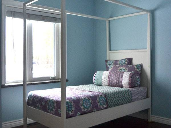 Ana White Hannah Canopy Bed Diy Projects