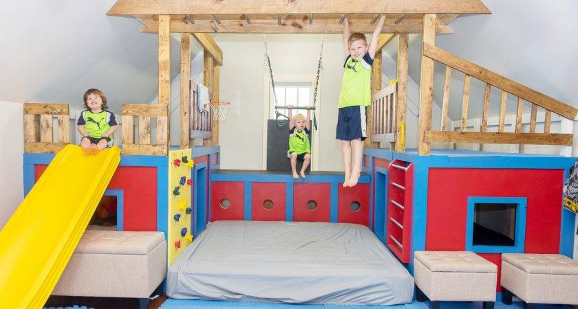 Ana White Indoor Playground Set Diy Projects