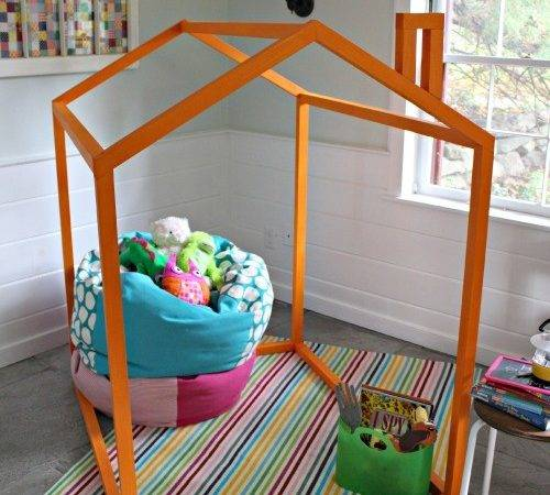 Ana White Indoor Playhouse Frame Diy Projects