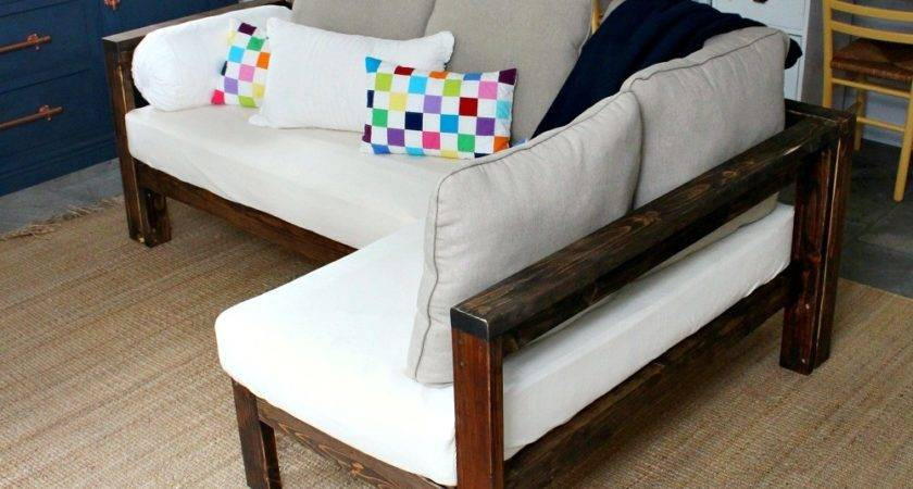Ana White Kids Couch Diy Sectional Crib