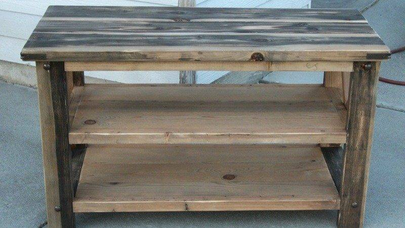 Ana White Mom Rustic Console Diy Projects