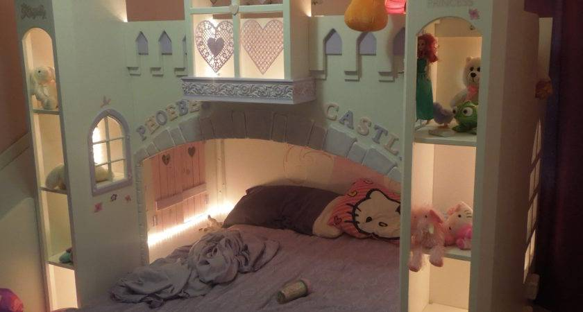 Ana White Phoebe Castle Bed Diy Projects