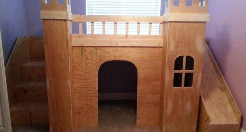 Ana White Princess Castle Loft Bed Diy Projects
