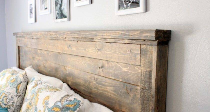 Ana White Reclaimed Wood Headboard Queen Diy