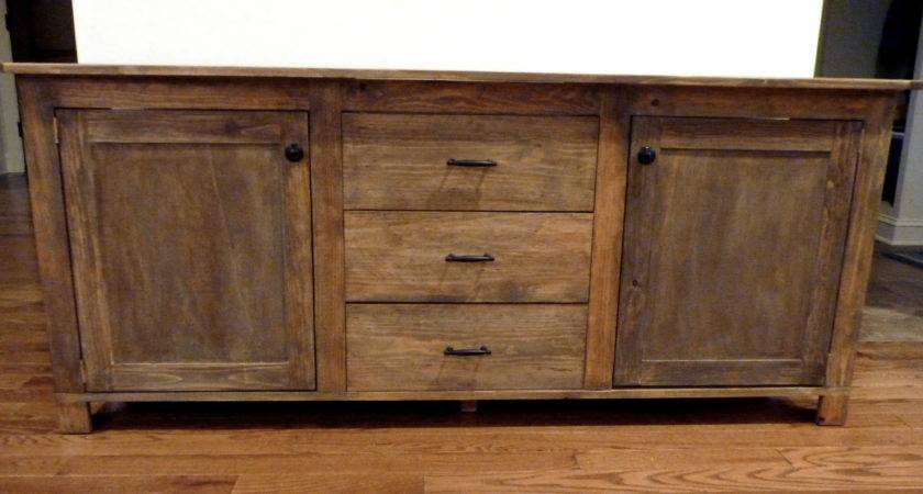 Ana White Rustic Sideboard Diy Projects