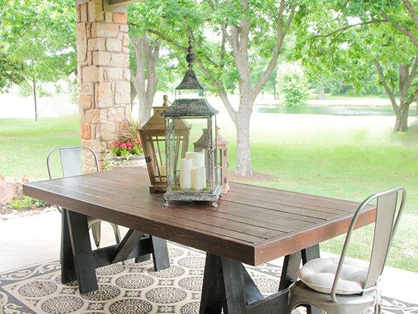 Check Out 19 Diy Patio Table Ideas Gabe Jenny Homes