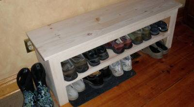 Ana White Shoe Bench Diy Projects