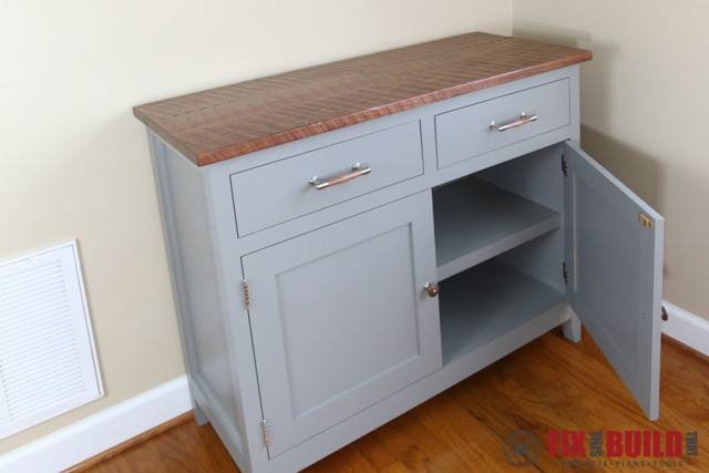 Ana White Sideboard Cabinet Diy Projects