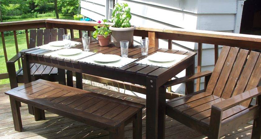 Ana White Simple Outdoor Collection Diy Projects