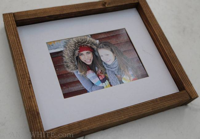 Ana White Simple Wood Frame Plans Diy Projects