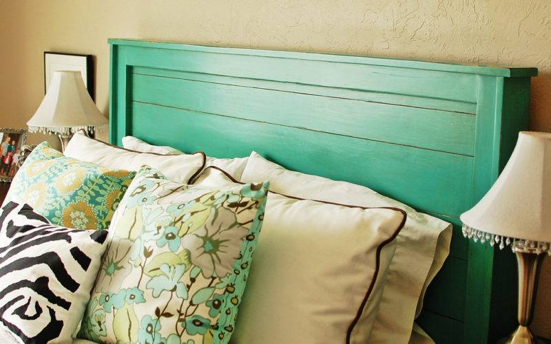 Ana White Turquoise Headboard Diy Projects