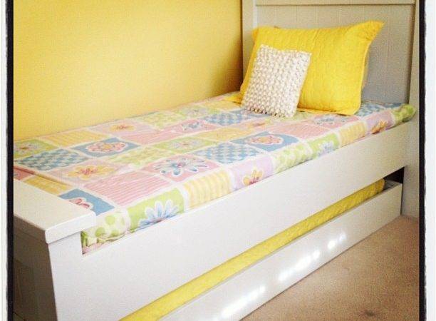 Ana White Twin Farmhouse Trundle Diy Projects